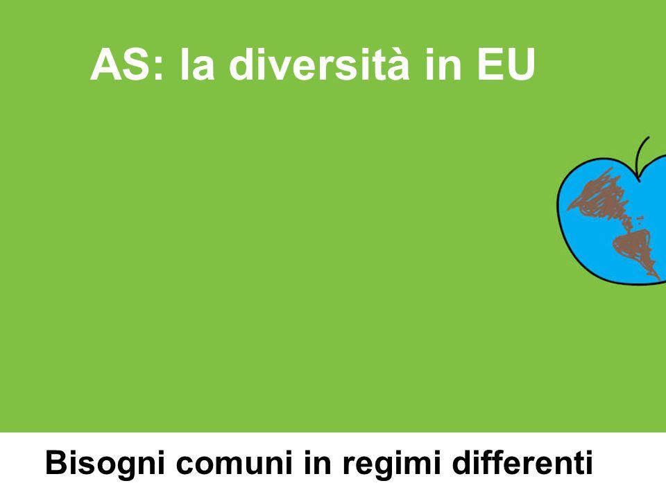 Bisogni comuni in regimi differenti