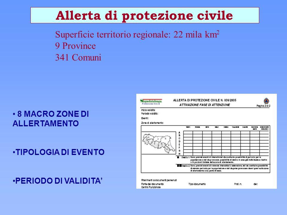 Allerta di protezione civile