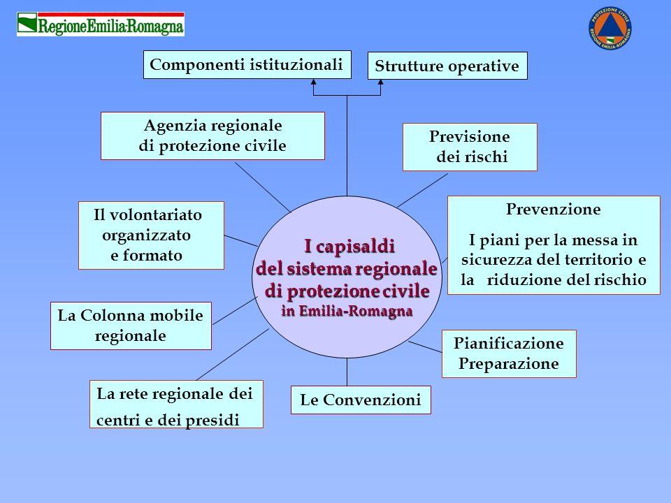 Componenti istituzionali Pianificazione Preparazione