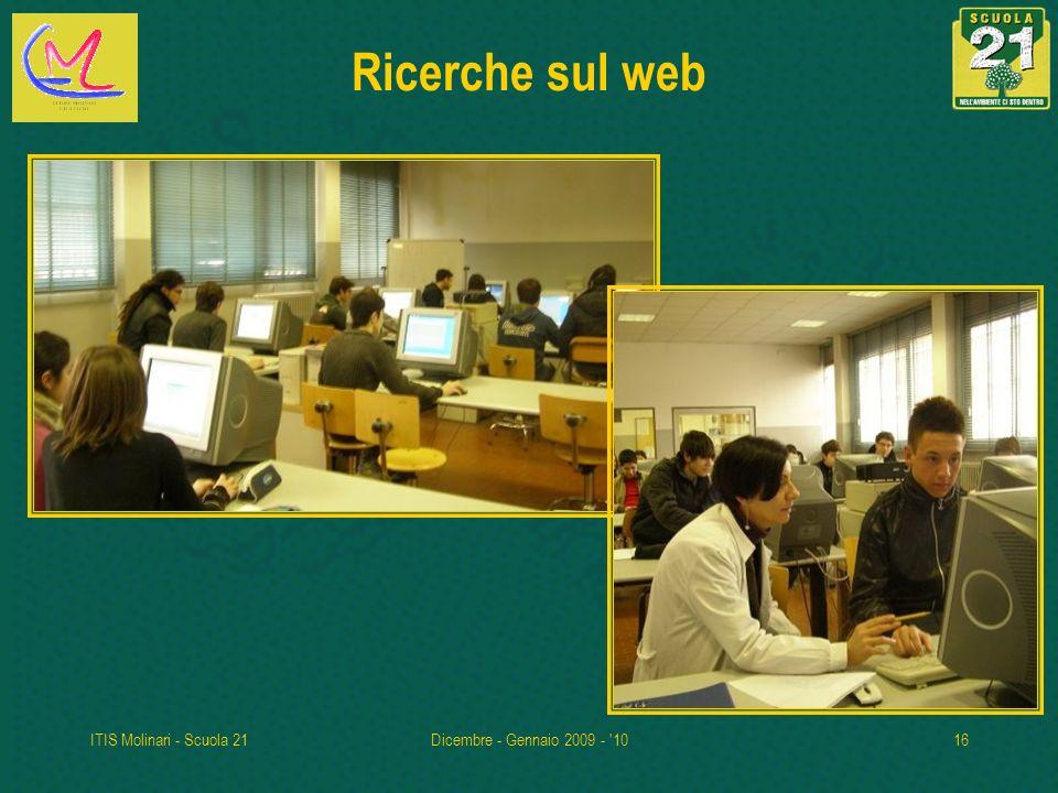 Ricerche sul web ITIS Molinari - Scuola 21