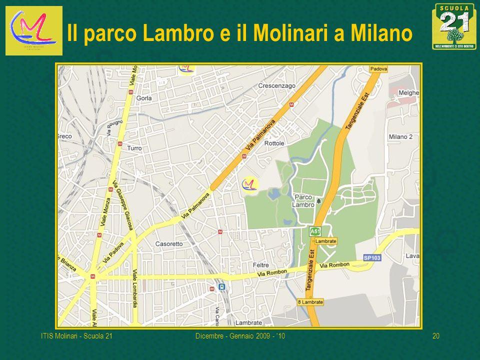Il parco Lambro e il Molinari a Milano