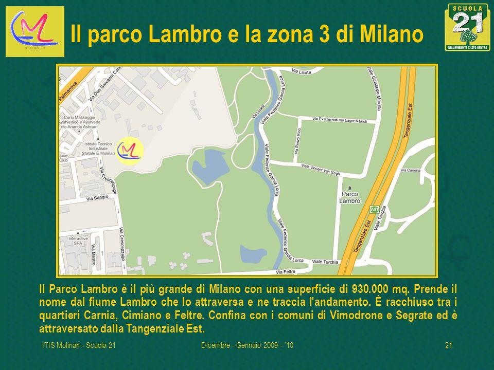 Il parco Lambro e la zona 3 di Milano
