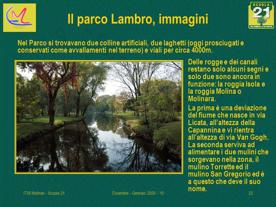 Il parco Lambro, immagini