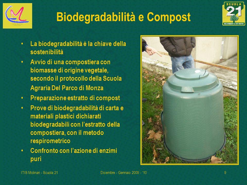 Biodegradabilità e Compost