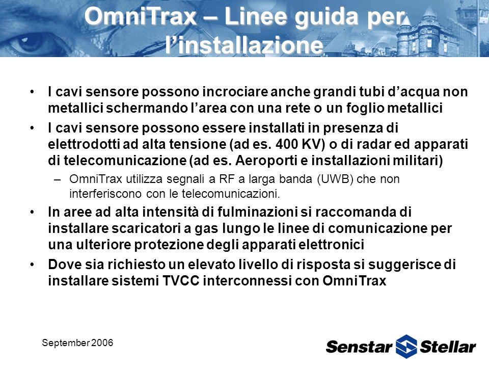 OmniTrax – Linee guida per l'installazione