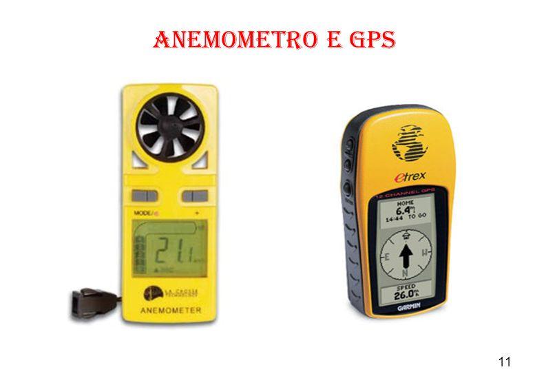 anemometro e GPS