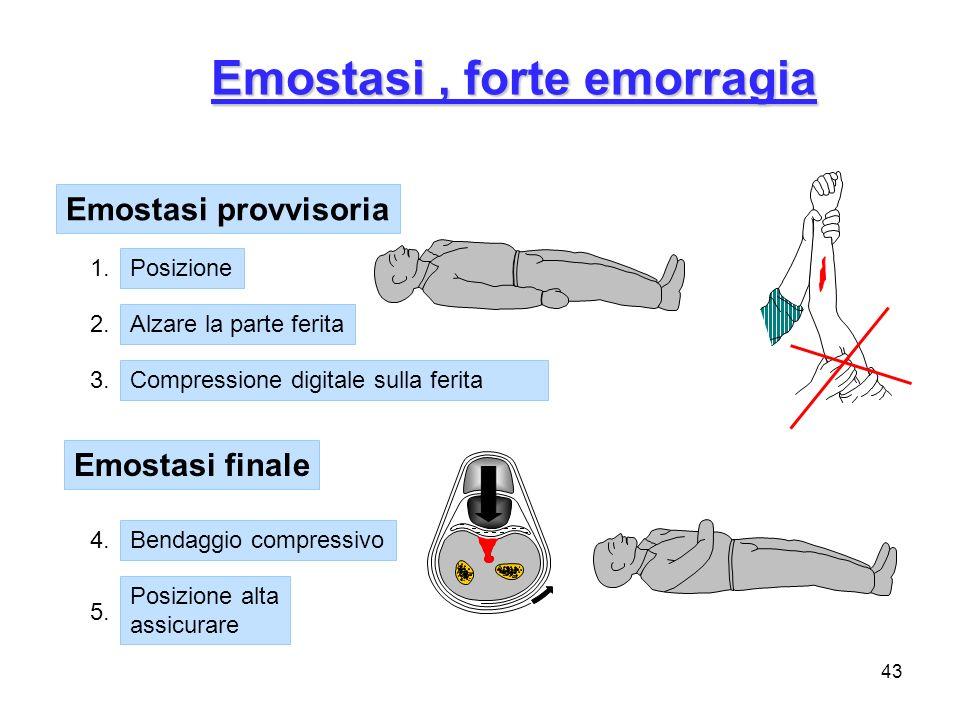 Emostasi , forte emorragia