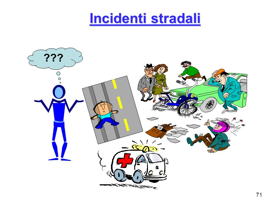 Incidenti stradali