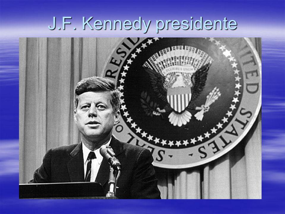 J.F. Kennedy presidente