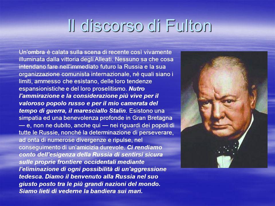 Il discorso di Fulton