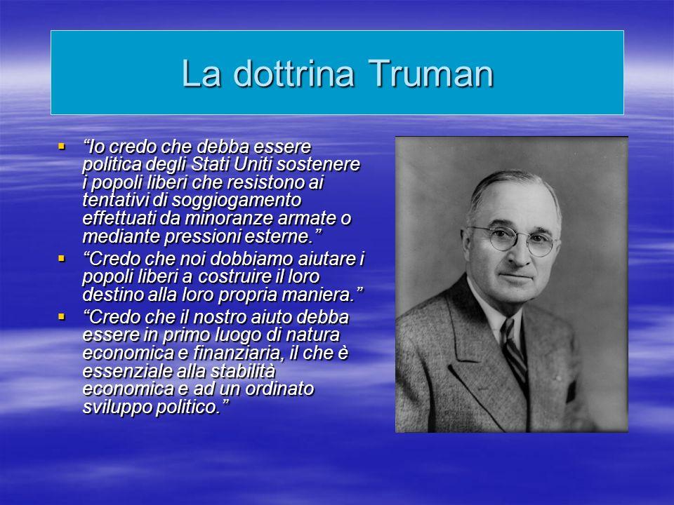 La dottrina Truman