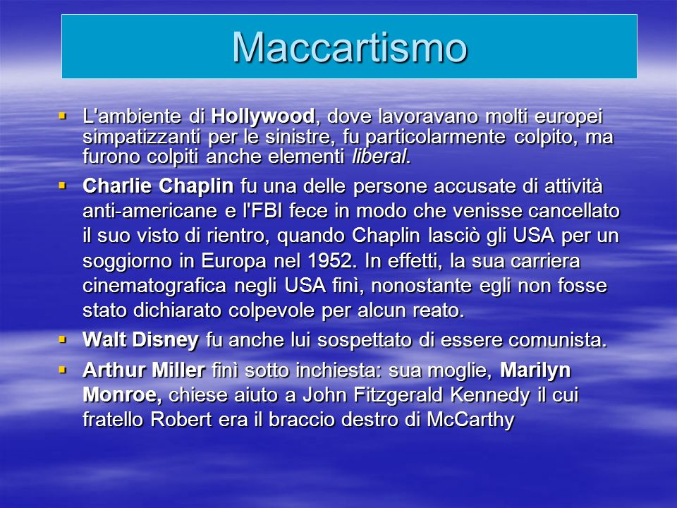 Maccartismo