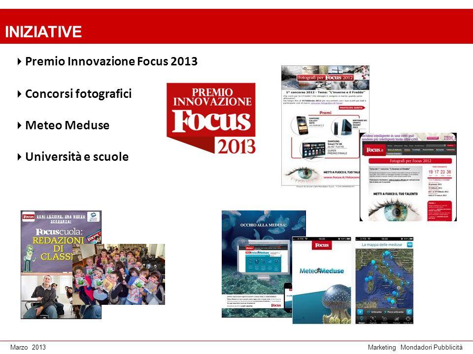 INIZIATIVE Premio Innovazione Focus 2013 Concorsi fotografici
