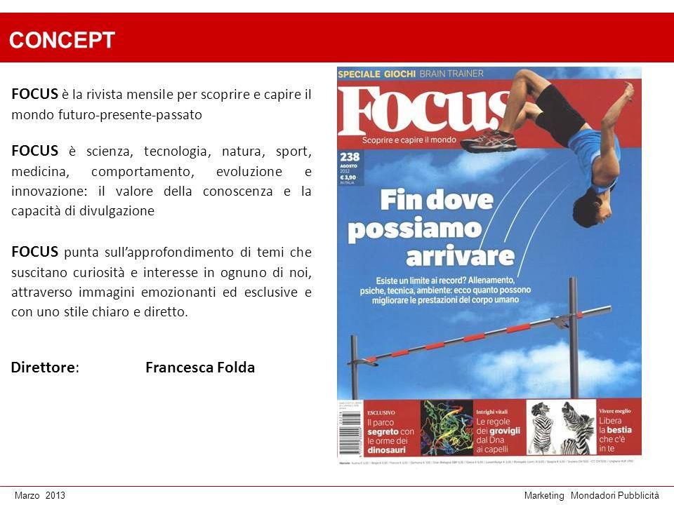 CONCEPT FOCUS è la rivista mensile per scoprire e capire il mondo futuro-presente-passato.