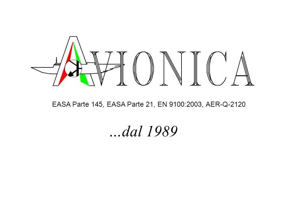 EASA Parte 145, EASA Parte 21, EN 9100:2003, AER-Q-2120
