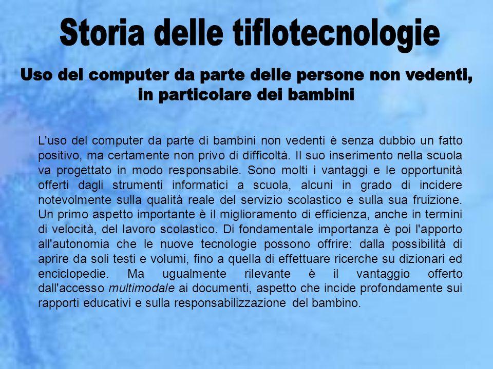 Storia delle tiflotecnologie