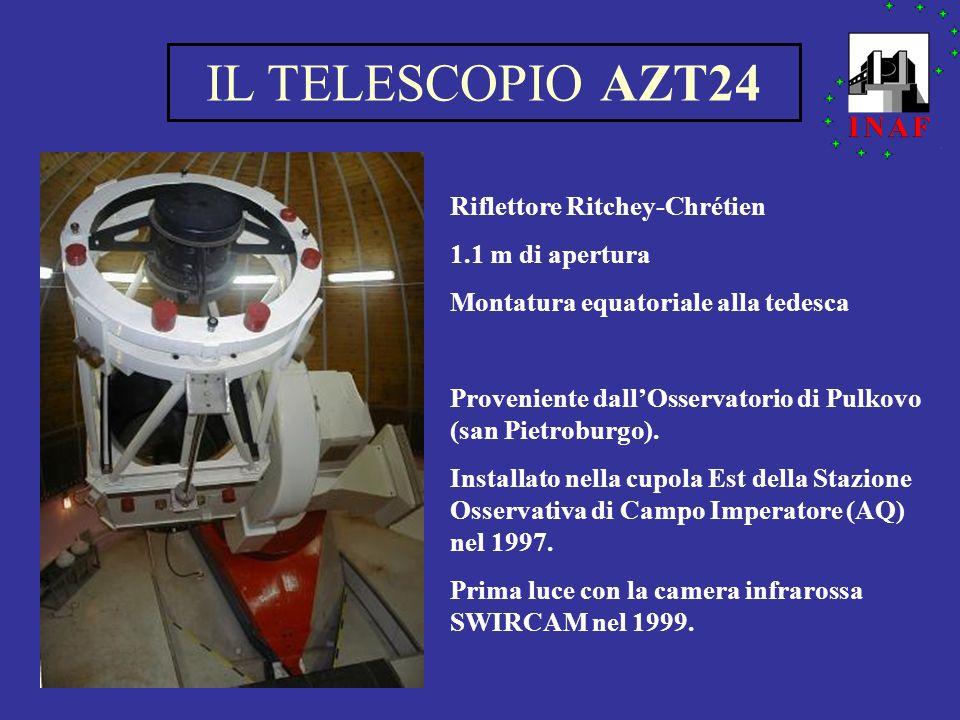 IL TELESCOPIO AZT24 Riflettore Ritchey-Chrétien 1.1 m di apertura
