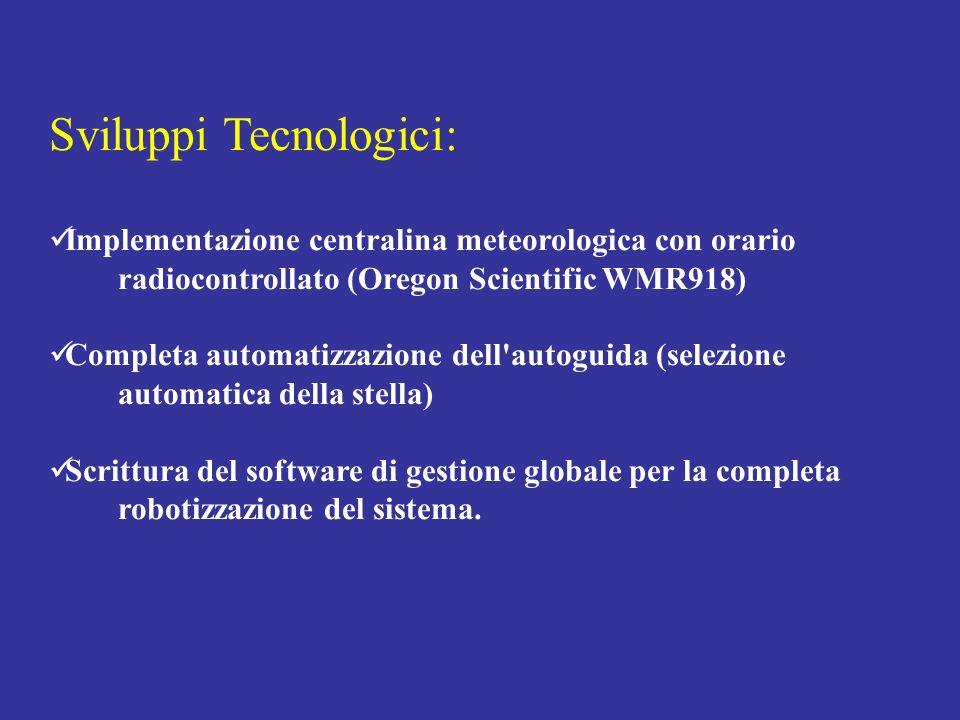 Sviluppi Tecnologici: