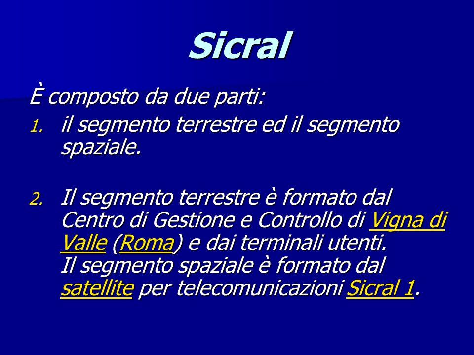Sicral È composto da due parti:
