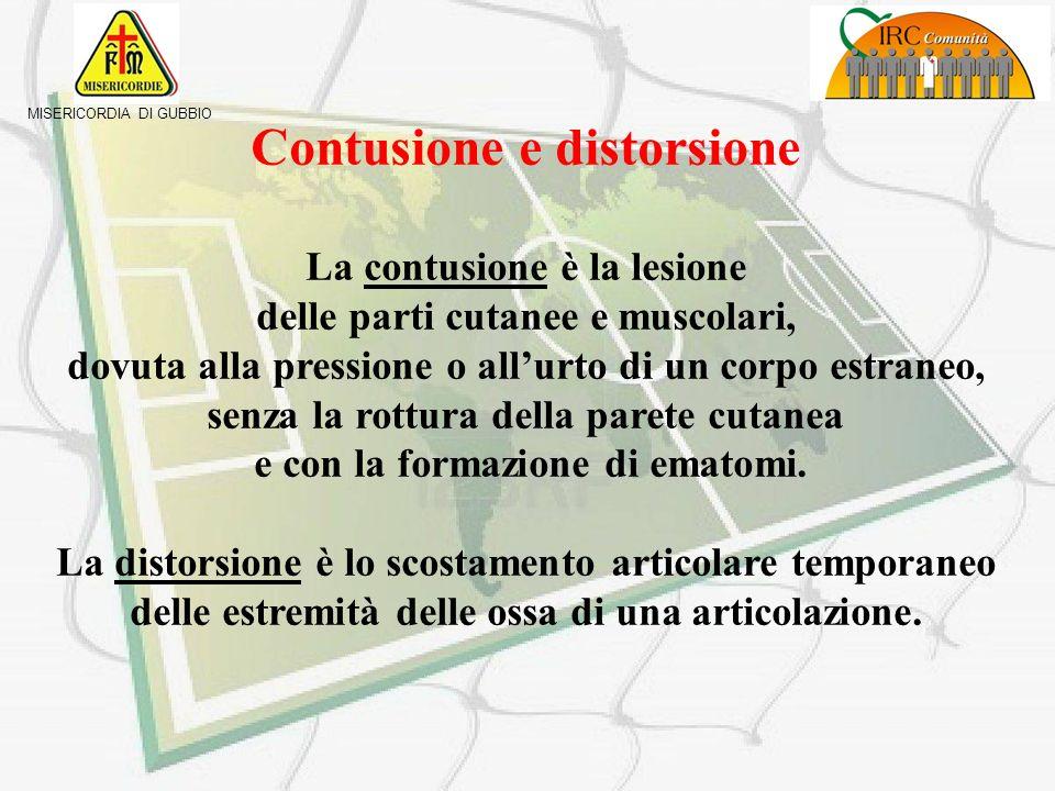 Contusione e distorsione