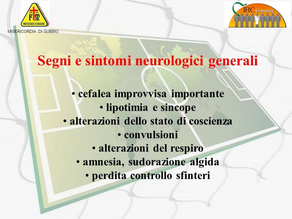 Segni e sintomi neurologici generali