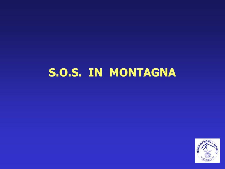 S.O.S. IN MONTAGNA