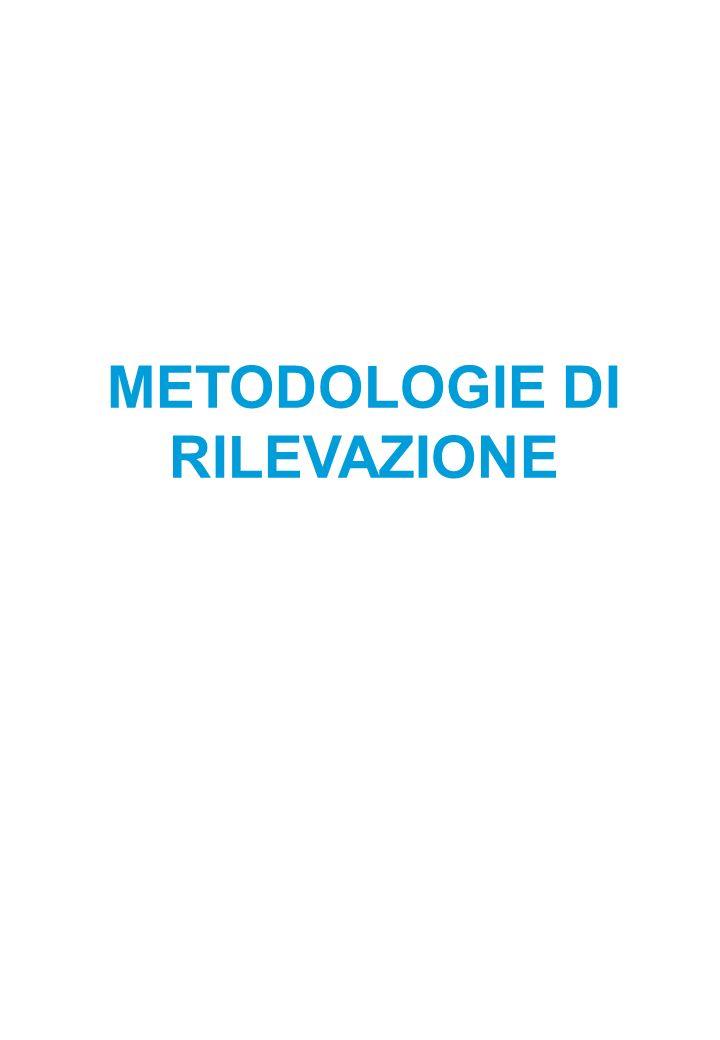 METODOLOGIE DI RILEVAZIONE