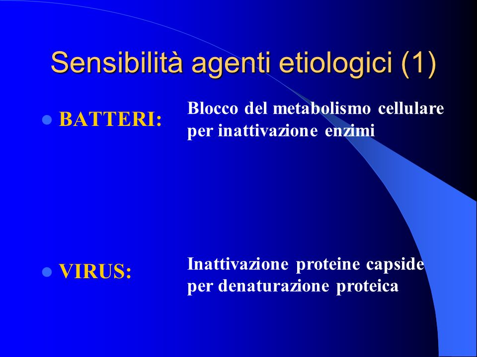 Sensibilità agenti etiologici (1)