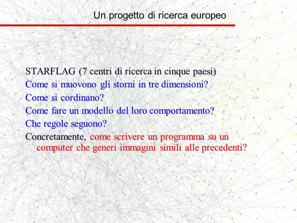 Un progetto di ricerca europeo