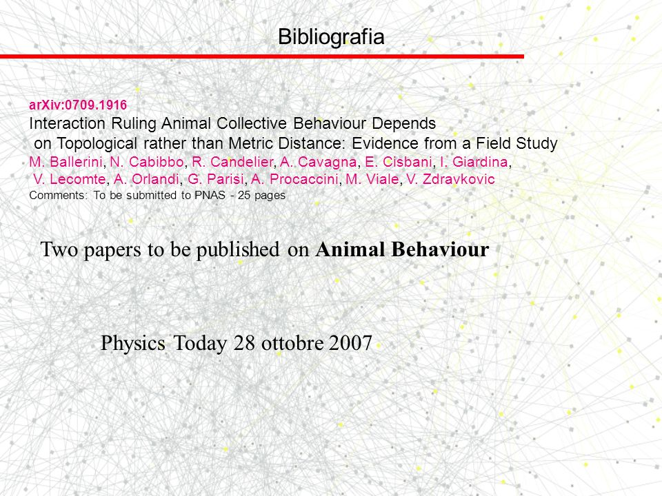 Two papers to be published on Animal Behaviour
