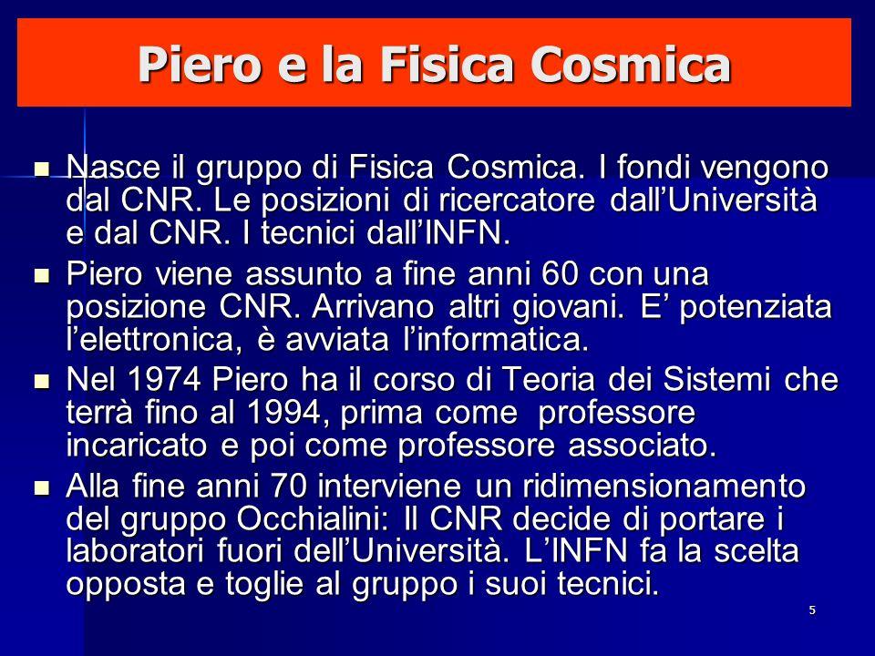 Piero e la Fisica Cosmica
