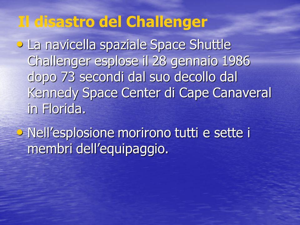Il disastro del Challenger