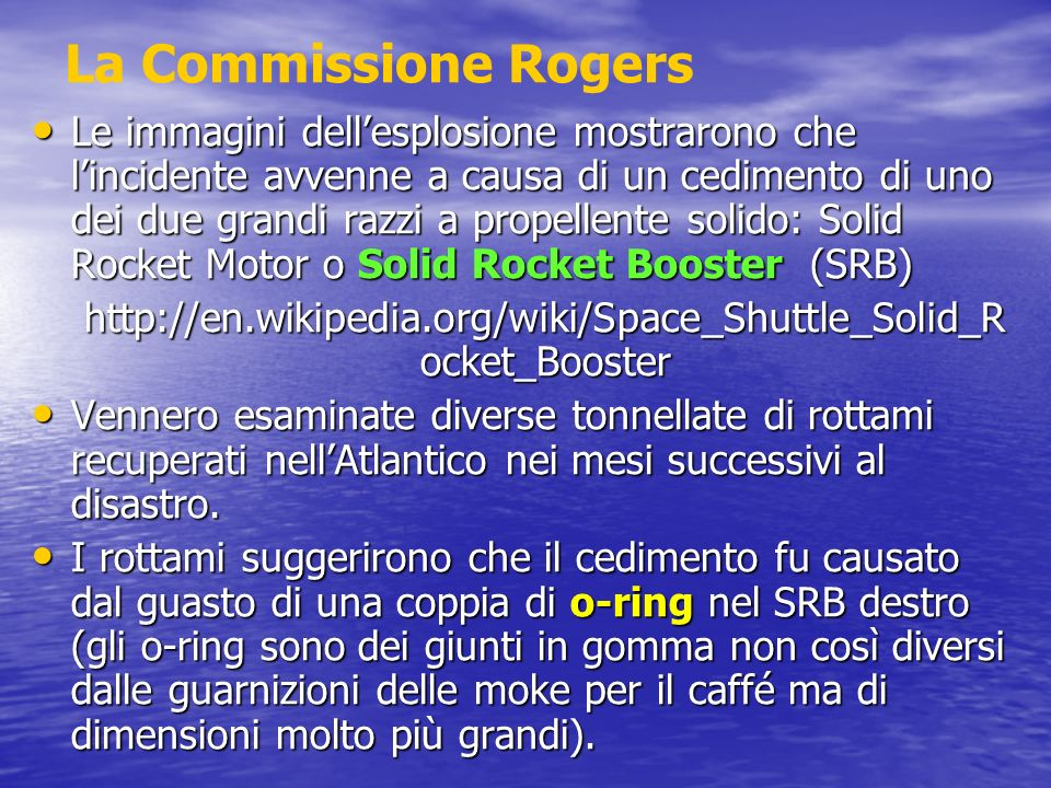 La Commissione Rogers