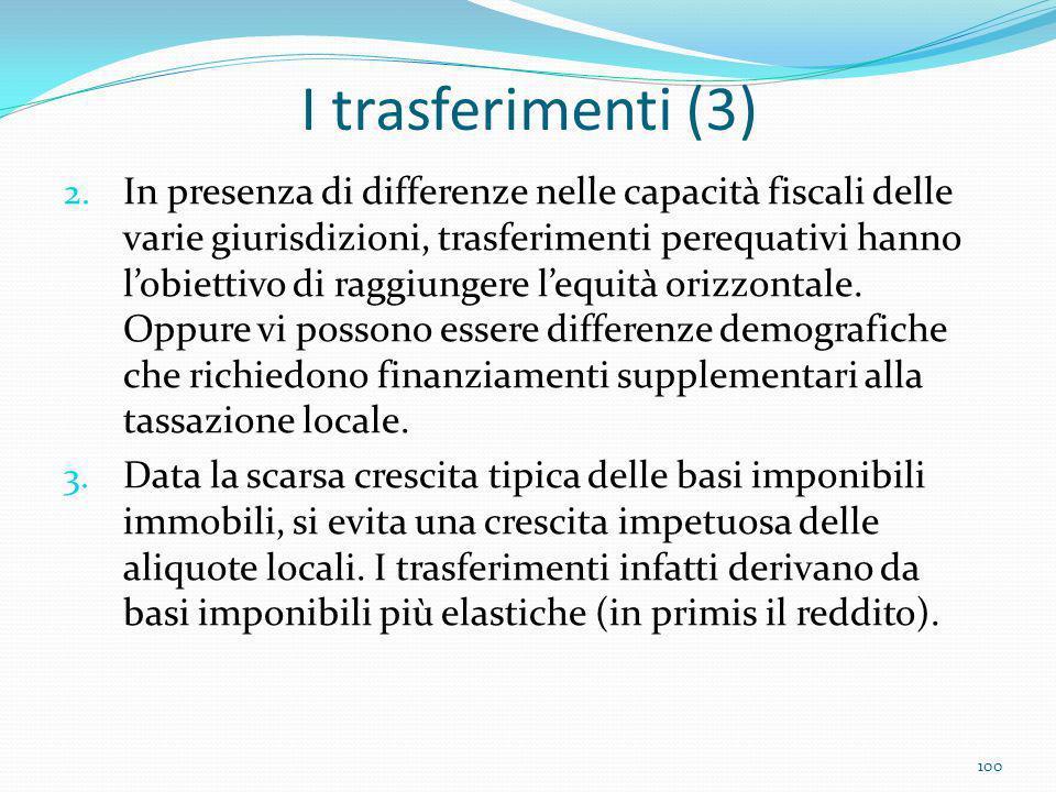 I trasferimenti (3)