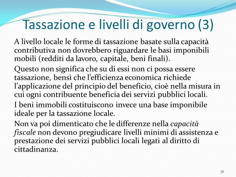 Tassazione e livelli di governo (3)