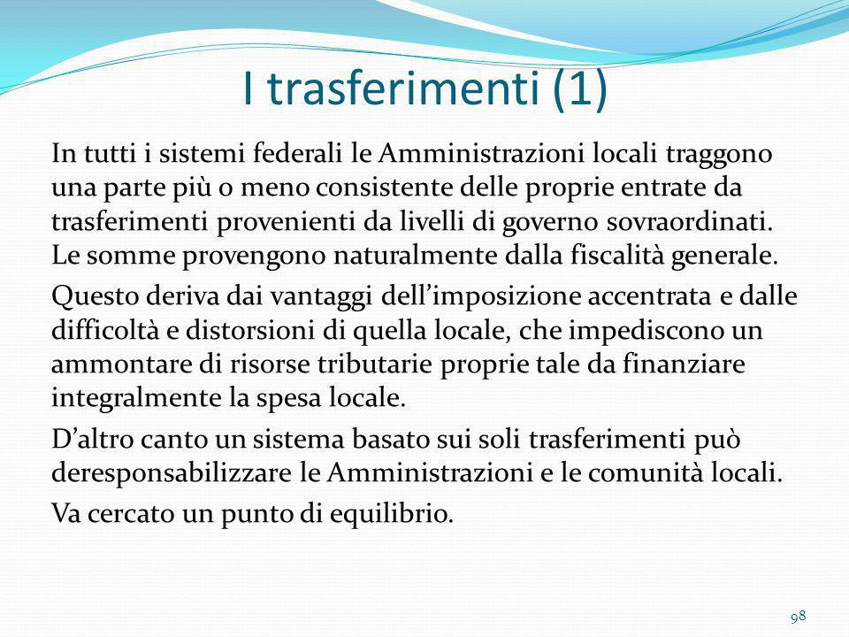 I trasferimenti (1)