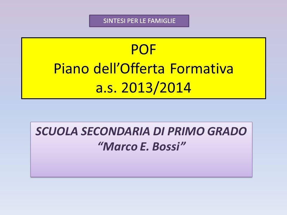 POF Piano dell'Offerta Formativa a.s. 2013/2014