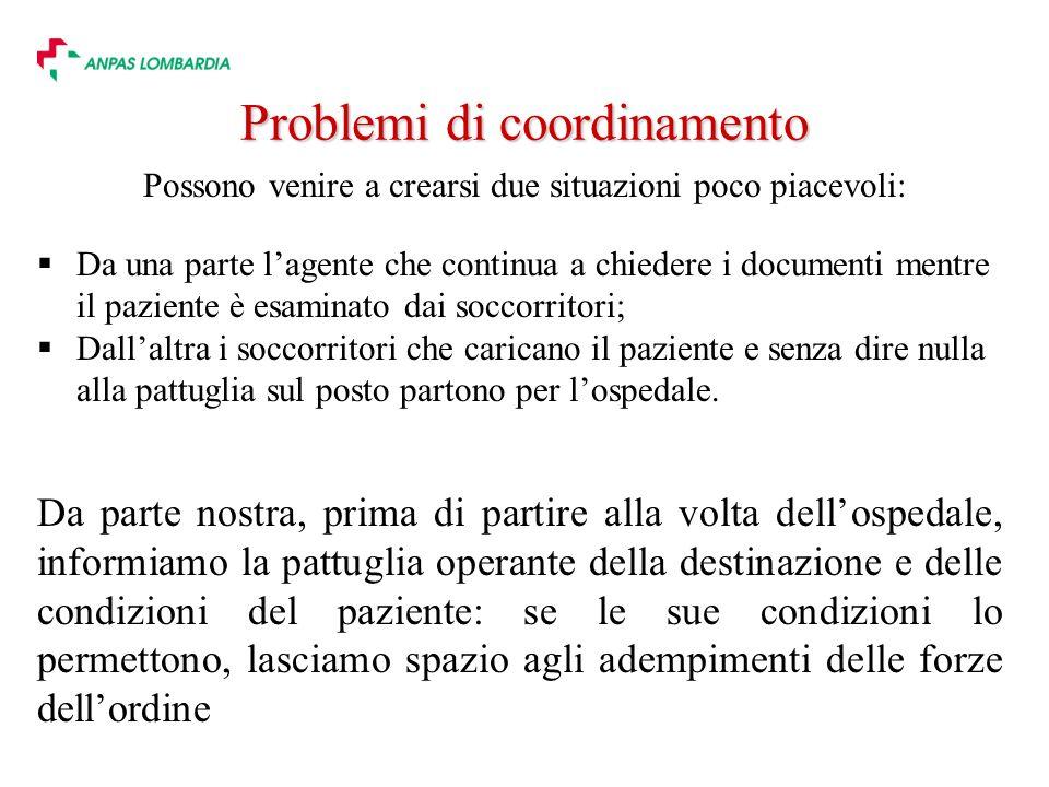Problemi di coordinamento