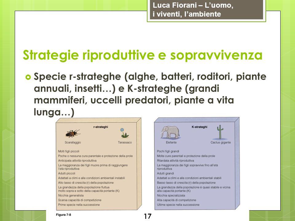 Strategie riproduttive e sopravvivenza