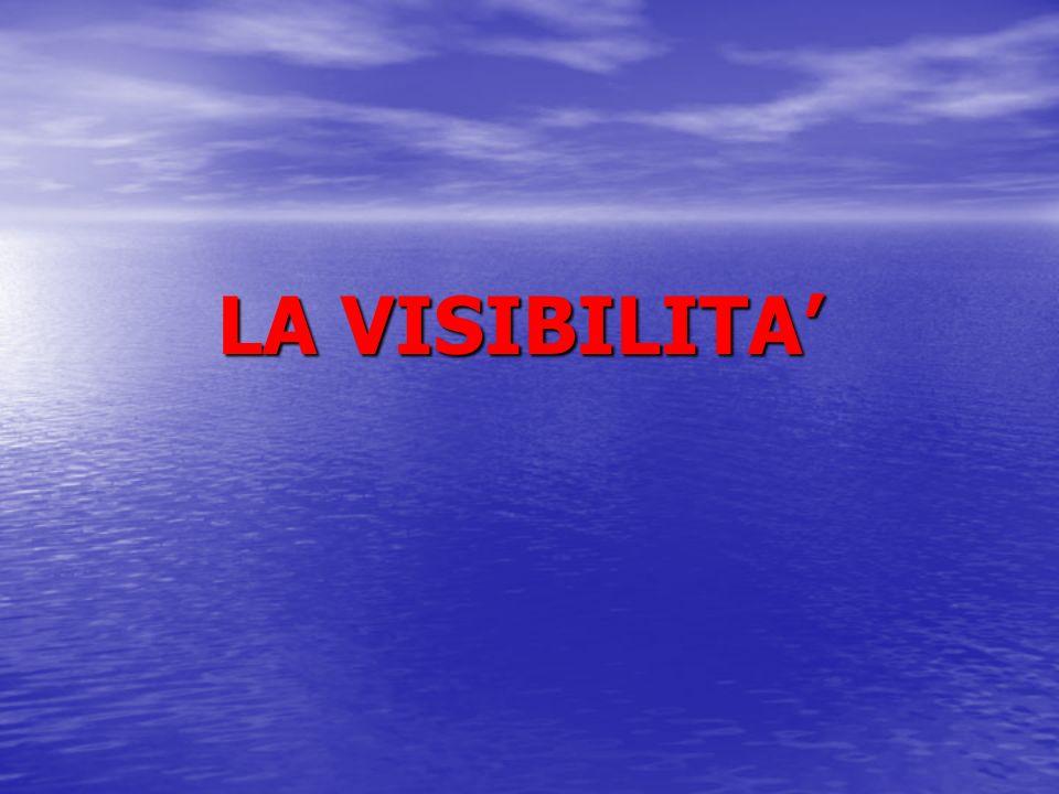 LA VISIBILITA'