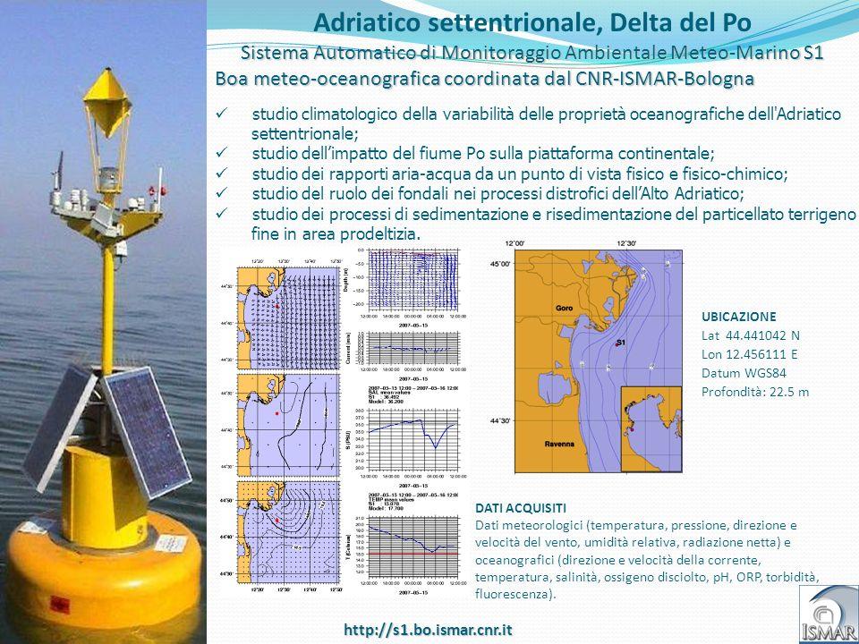 Adriatico settentrionale, Delta del Po