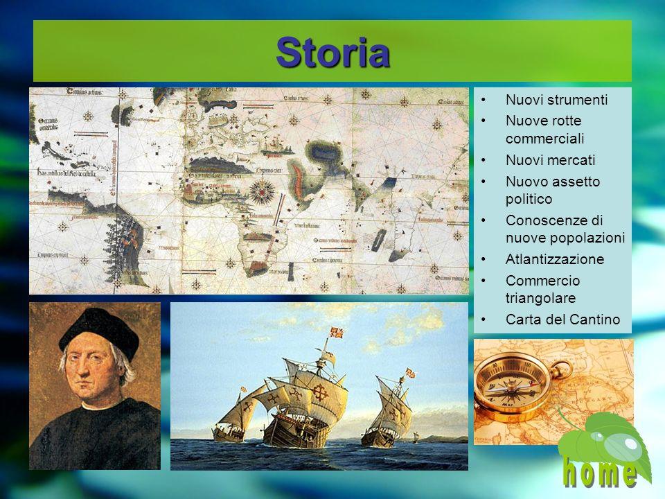 Storia home Nuovi strumenti Nuove rotte commerciali Nuovi mercati