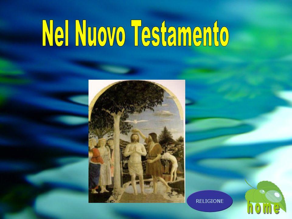 Nel Nuovo Testamento home RELIGIONE