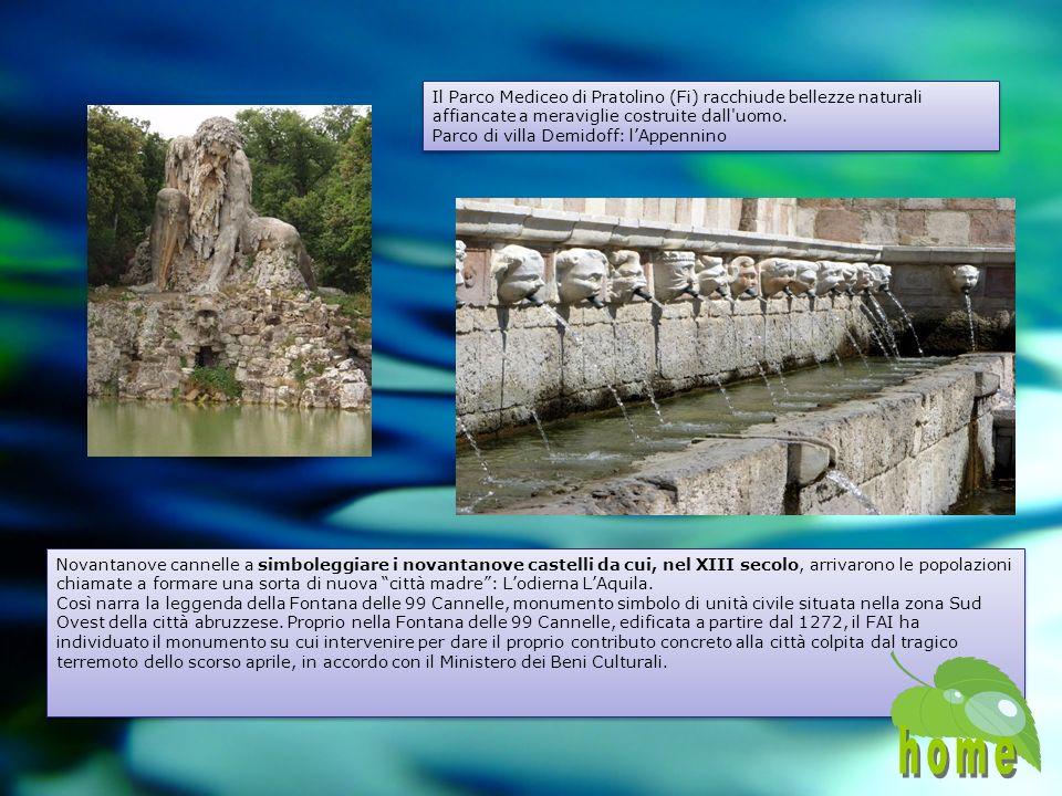 Il Parco Mediceo di Pratolino (Fi) racchiude bellezze naturali affiancate a meraviglie costruite dall uomo.