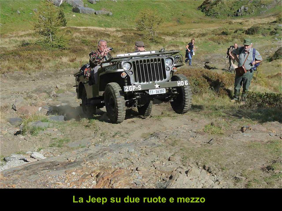 La Jeep su due ruote e mezzo