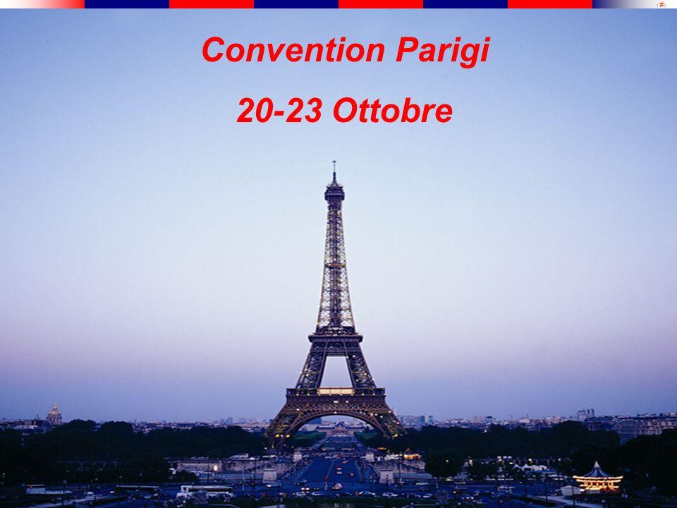 Convention Parigi 20-23 Ottobre