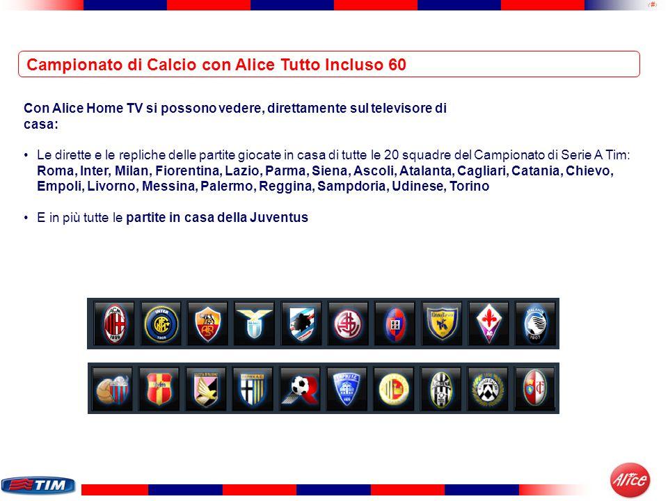 Campionato di Calcio con Alice Tutto Incluso 60