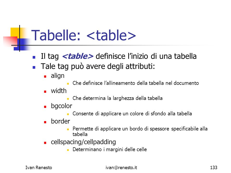 Tabelle: <table>