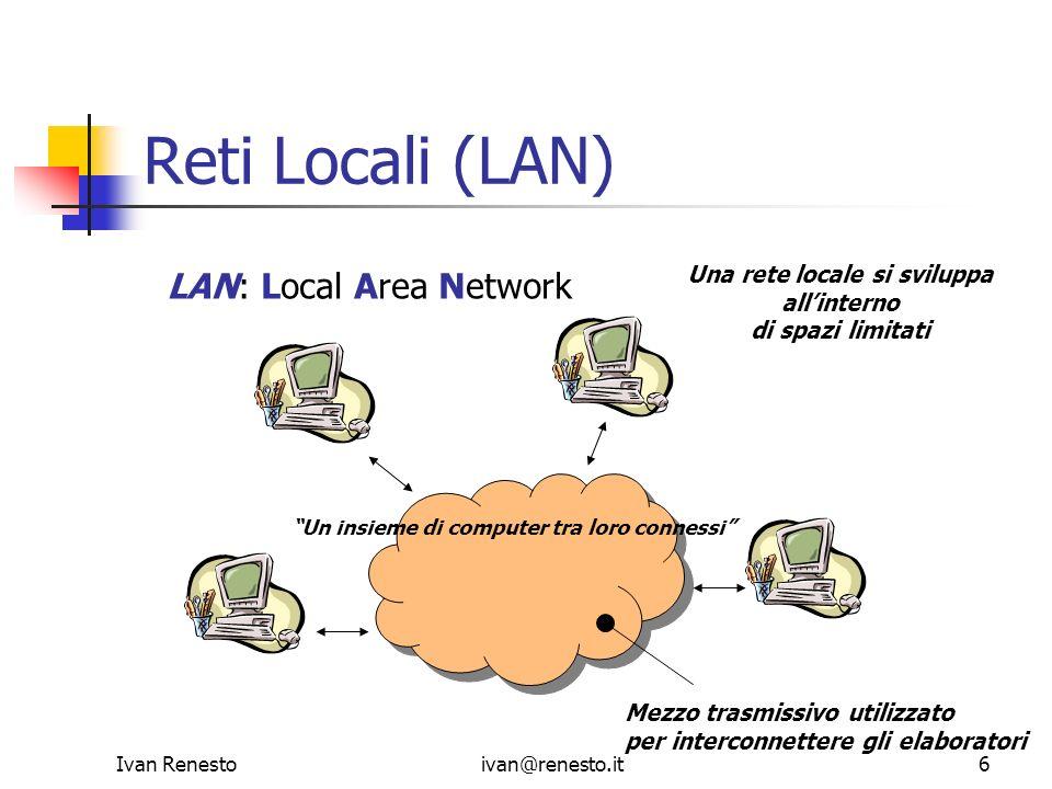 Una rete locale si sviluppa
