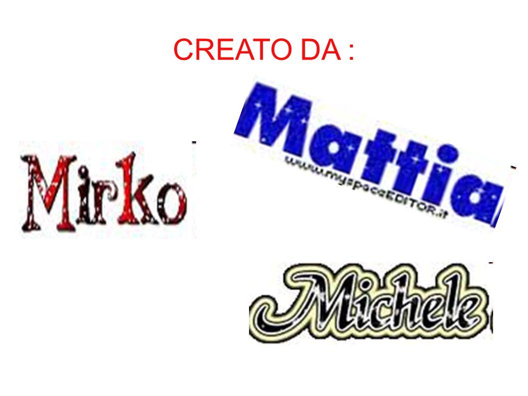 CREATO DA :